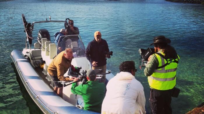 CBS Aerial Filming