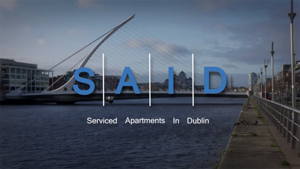Promotional Video Serviced Apartments In Dublin