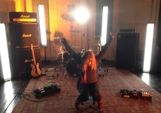 Lucy Rocking Out